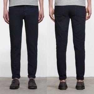 AllSaints Men's Blue Machida Iggy Jeans Dark Whisk